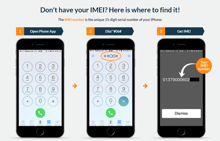 find imei iphone 11