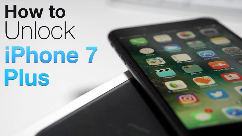 unlock iphone 7 plus