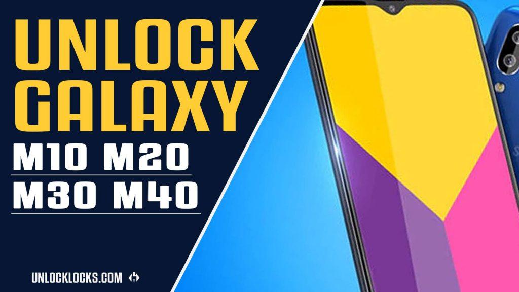 unlock samsung galaxy m40 free