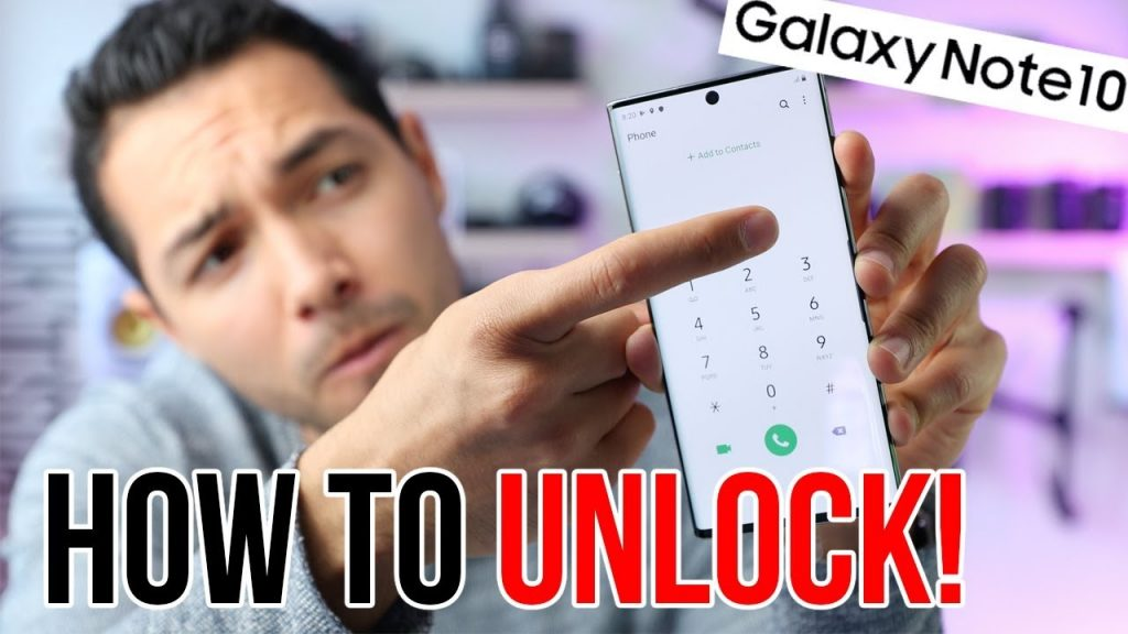 unlock samsung galaxy note 10 att free