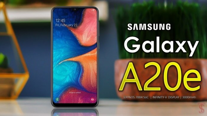 unlock samsung galaxy a20e free
