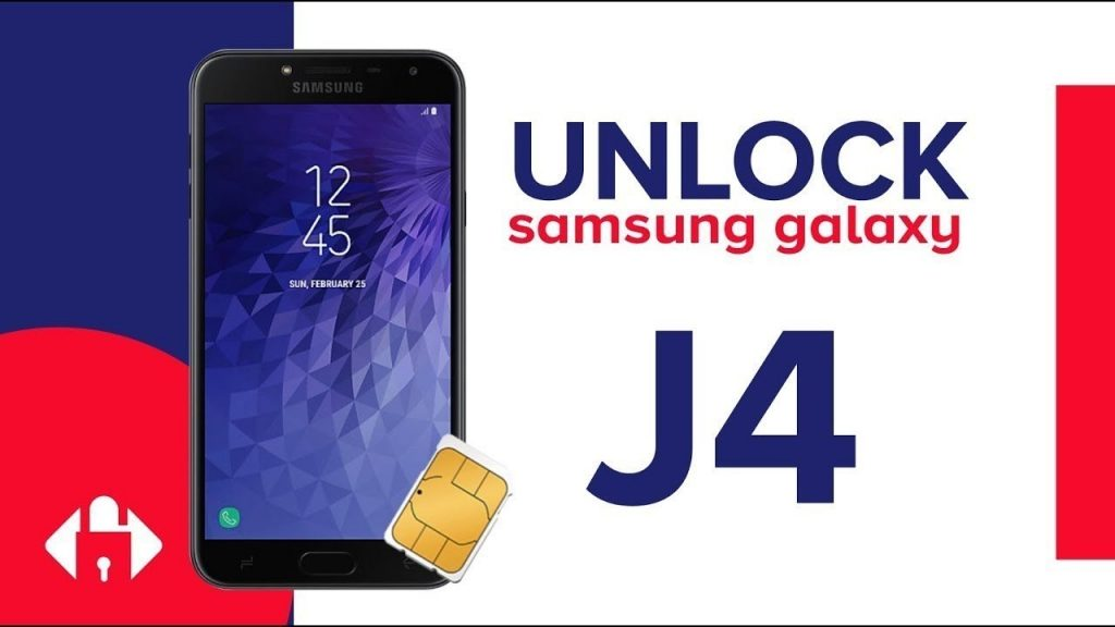 unlock Samsung Galaxy J4 Plus