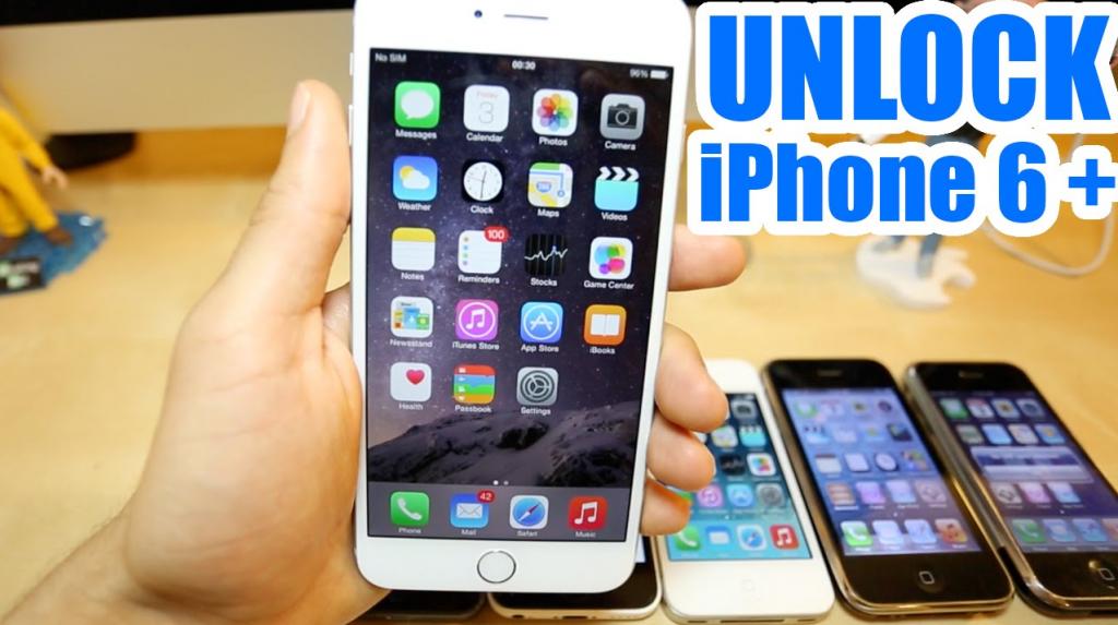 unlock iphone 6 plus free