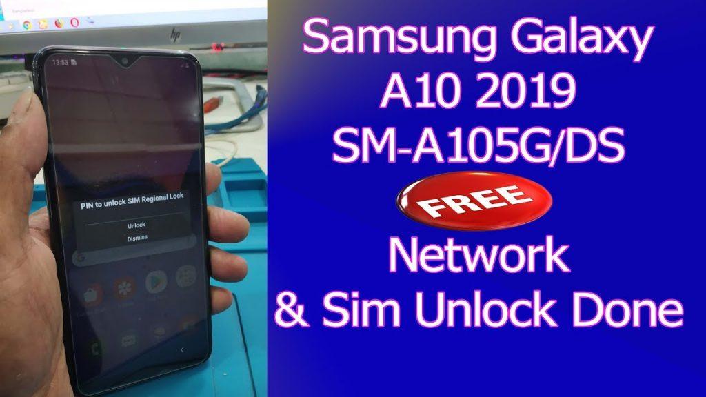 unlock samsung galaxy a10 unlocky