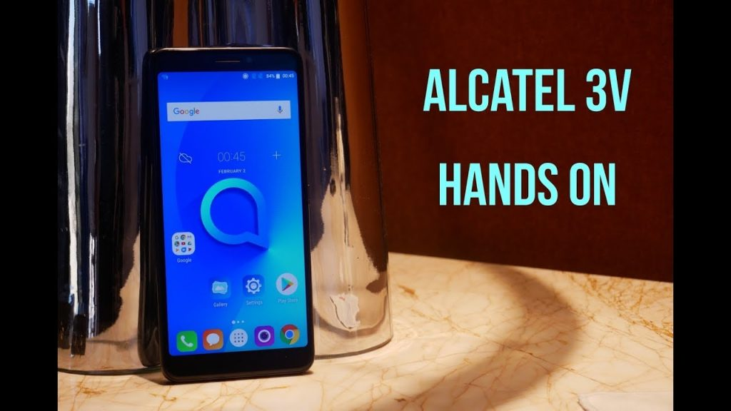 unlock Alcatel 3V free